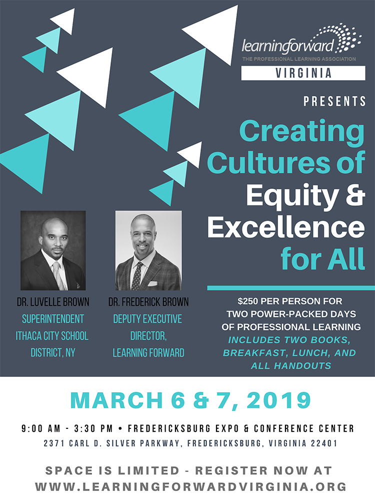 Creating Cultures of Equity and Excellence For All Conferences